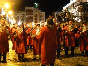 Famfàrria del Bàndol Reial. Alcoi, 4 de gener de 2011 Foto: Maria Cabanes