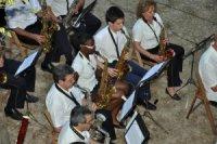 Corporació Musical Primitiva d'Alcoi en Vil·la Vicenta. Foto: José Luis Giménez