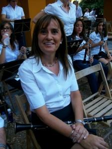 Marisa Sempere, clarinet de la Corporació Musical Primitiva
