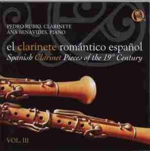 El clarinete romántico español, vol. III