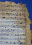 Fragment de la partitura. Gozos a Nuestra Señora de los Desamparados (1885). Camilo Pérez Laporta.
