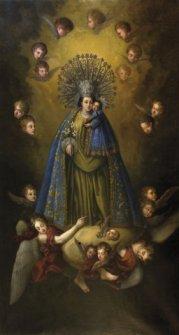 Virgen de los Desamparados. Anónimo. Óleo sobre lienzo. Ca. 1849-1852. Capilla de la Virgen de los Desamparados. Alcoy.
