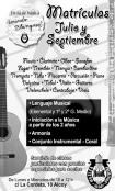 Escuela música Amando Blanquer Apolo Primitiva Alcoi matrícula curso 2012-13
