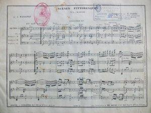 Transcripció de Gabriel Parés publicada per Evette & Schaeffer, cap a 1906