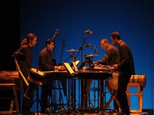 ECLATS en el estreno de Himnesclats de A. Ll. Ferrando. Gala Ciudad de Alcoy. 2009