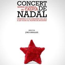 Banda de Calvià. Concert de Nadal 2012. Jordi Miralles, director