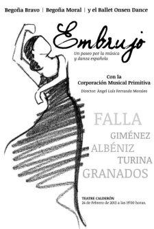 EMBRUJO: Un paseo por la música y danza española. Teatro Calderón. Alcoi 24 de febrero de 2013