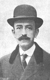 Manuel de Falla. Foto: La Ilustración española y americana 15-6-1917