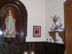 Entre Santa Cecilia i Sant Jordi, el Beato Ciríaco María Sancha en el oratorio del CIM Apolo