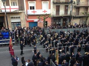Alcoi, Dia dels Músics (2013-04-20) Unió Musical de L'Orxa. Director: Juan Carlos Peris