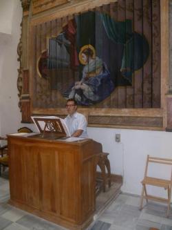 Ex-convent d'Agres. Orgue.