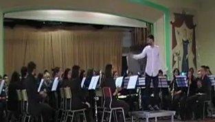 """2013-05-27 Vicent Cortell estrena """"Obertura per a banda"""" al Conservatori Superior """"Oscar Esplá"""" d'Alacant"""