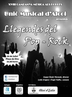 """""""Llegendes del Pop-Rock"""" Unió Musical d'Alcoi - 20 de juliol de 2013"""