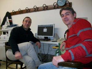 Rubén Priego y Jorge Candalija han desarrollado la aplicación web de consulta del catálogo de La Primitiva