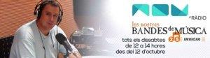 Nuestras Bandas de Música a Nou Ràdio des del 12 d'octubre de 2013