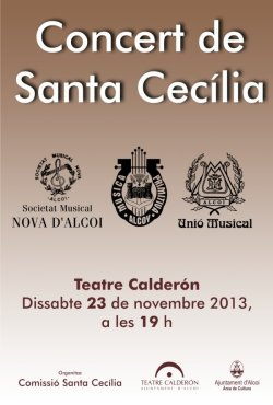 2013 Concert de Santa Cecilia - Alcoi