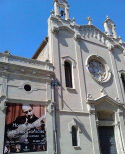 Concerts homenatge a José Luis González a la Capella de l'antic asil. Alcoi, març 2014