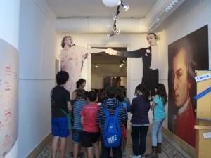 Visita escolar a la exposición
