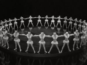 La calle 42 (1933) de Lloyd Bacon, musical sobre el mundo del teatro