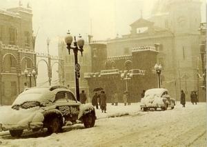 """El mismo año del estreno de """"Aleluya"""" coincidió con la famosa nevada (Foto: Crespo Colomer)"""