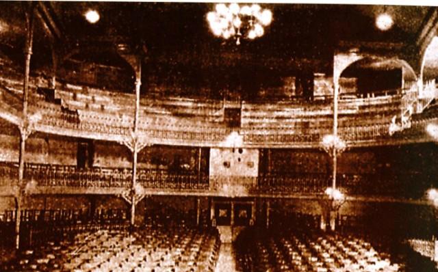 Vista original del teatro en 1903