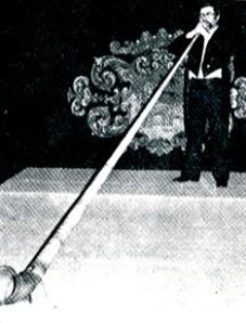 Gómez de Edeta va introduïr la trompa alpina a Espanya
