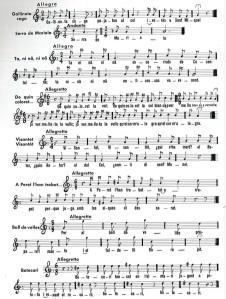 """Algunes de les melodíes populars de les que es nodreix """"El Pardalot"""""""