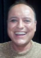 Javier Pérez momentos antes de la función