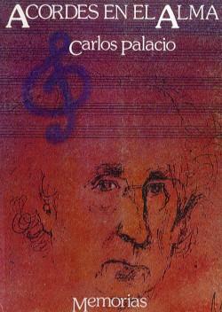 """Portada de sus memorias """"Acordes en el alma"""" (Editado por Instituto Juan Gil-Albert, 1984)"""