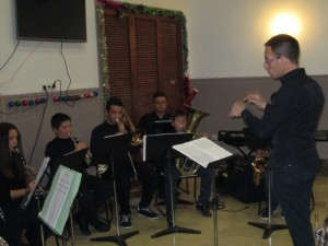 Audición de Navidad del pasado año (Foto. Archivo)