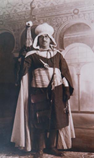 Camilo Pérez Monllor, vestit d'abencerraje