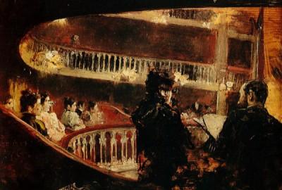 """""""El palco del Principal"""" pintat per Fernando Cabrera en 1885 i influït per la pintura impressionista francesa ens dóna una idea de l'atmosfera que es respirava en l'estrena de 1884i influït per la pintura impressionista francesa ens dóna una idea de l'atmosfera que es respirava en l'estrena de 1884 i influït per la pintura impressionista francesa ens dóna una idea de l'atmosfera que es respirava en l'estrena de 1884 i influït per la pintura impressionista francesa ens dóna una idea de l'atmosfera que es respirava en l'estrena de 1884"""