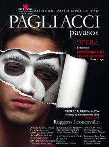 """""""Pagliacci"""" de Ruggero Leoncavallo (20/02/15)"""