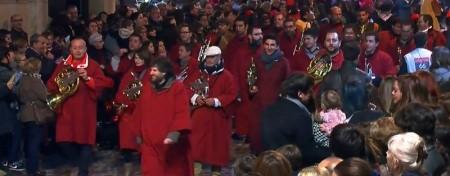Crida i Clam de La Vella, 4 de gener de 2015