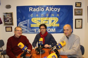 Jaume Jordi Ferrando, Juan Enrique Ruíz y Pablo Martínez