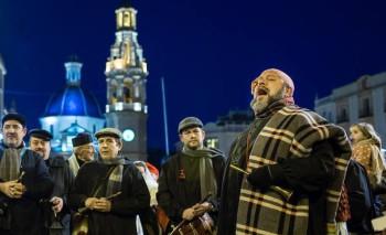 El Grup de Dolçainers i Tabaleters La Cordeta van estar presents al Pregó del Tio Piam