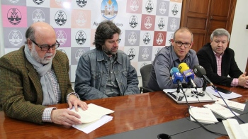 Josep María Soriano, Àngel Lluís Ferrando, Paco Agulló i Josep Lluís Santonja