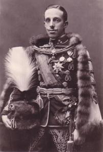 Alfons XIII, rei d'Espanya entre 1886 i 1931 i amic personal de Camilo Pérez Monllor