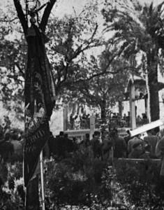 El Templet de la Glorieta als anys 60 en el certamen musical del Dia dels Músics (Foto: Arxiu ASJ)