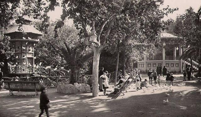 La Glorieta Primo de Rivera als anys 30 (Foto: L. Relsin)