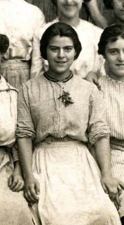 """Teresa Mora Ferrándiz """"Tereseta la Loca"""" (1900-1952) *Foto cedida per Ricardo Canalejas*"""