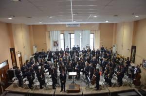 La Unió Musical Contestana con Mario Roig Vila de director