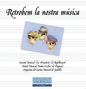 """Portada CD """"Retrobem la nostra música"""""""
