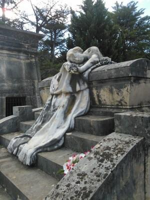 Panteó García-Botí, de l'escultor Eugenio Carbonell Mir (Foto: P. Martínez)