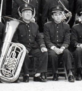 Fernando de Mora y Amando Blanquer en 1959 (Foto cedida por Rafael Serra)