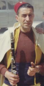 Rafael Serra en el Día del Alardo de 1968