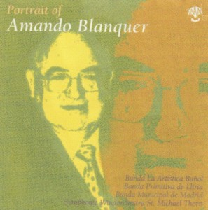 """""""Iridiscencias sinfónicas"""" aparece grabada por La Primitiva de Llíria dirigida por Ramón Ramírez Beneyto en el CD """"Portrait of Amando Blanquer"""""""