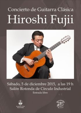 Concierto guitarra Hiroshi Fujii
