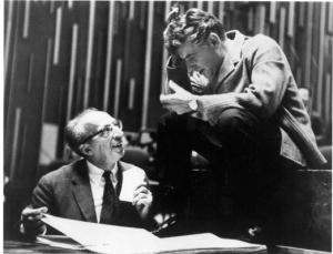 Aaron Copland i Leonard Bernstein, dos dels protagonistes del concert de La Primitiva