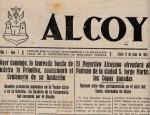 Portada periódico Alcoy 1945